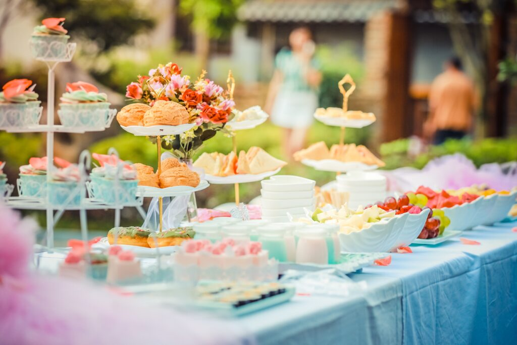 Business Parties & Baby Showers